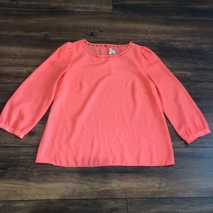 J crew top size small